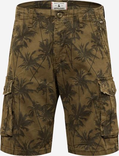 JACK & JONES Shorts 'ZACK' in hellbraun / dunkelbraun, Produktansicht