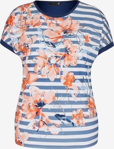 Thomas Rabe Shirt in blue denim / hellblau / orange / hellorange / weiß, Produktansicht