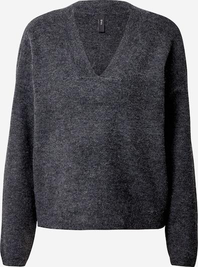 Y.A.S Pullover in dunkelgrau, Produktansicht