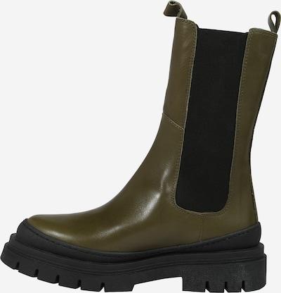 Ca'Shott Chelsea Boots in oliv / schwarz, Produktansicht