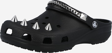 Saboţi de la Crocs pe negru