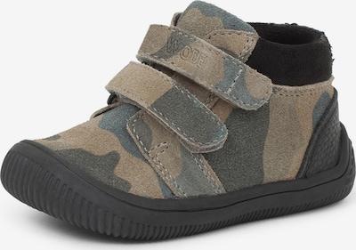 WODEN Kids Sneaker 'Tristan' in beige / grün, Produktansicht