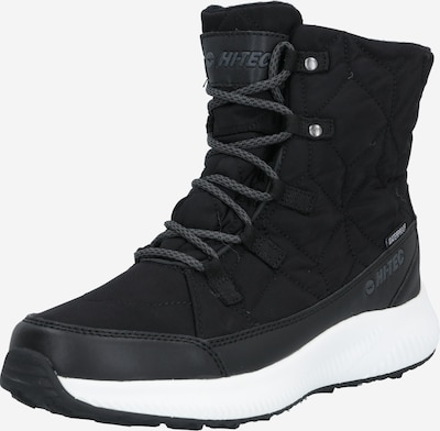 HI-TEC Boots 'QUILTY' in de kleur Bruin / Zwart, Productweergave