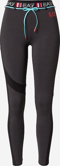 EA7 Emporio Armani Sportovní kalhoty - modrá / antracitová / červená, Produkt