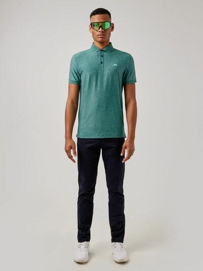 J.Lindeberg Shirt 'Towa' in de kleur Groen: Vooraanzicht