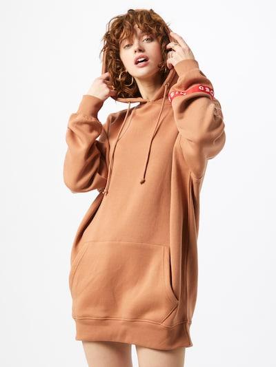 Missguided Kleid in hellbraun, Modelansicht
