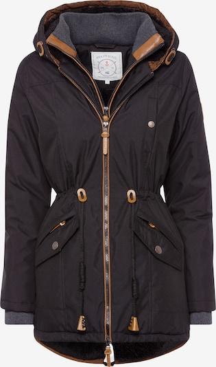 BRAVE SOUL Parka 'Abby' in braun / schwarz, Produktansicht