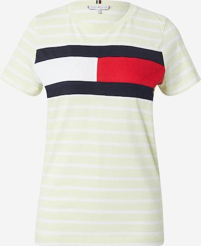 TOMMY HILFIGER Shirts i navy / lysegul / rød / hvid, Produktvisning