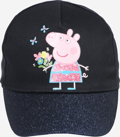 NAME IT Cap 'PEPPAPIG' in türkis / nachtblau / saphir / pink / rosa, Produktansicht