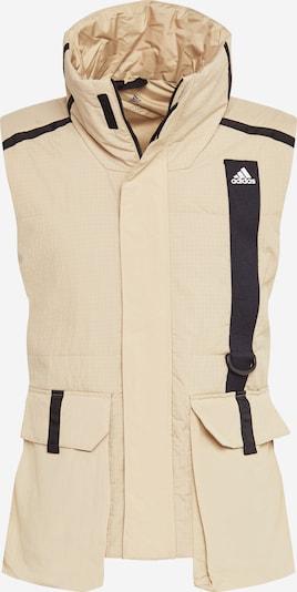 Sportinė liemenė 'UTILITAS' iš ADIDAS PERFORMANCE , spalva - smėlio / juoda, Prekių apžvalga