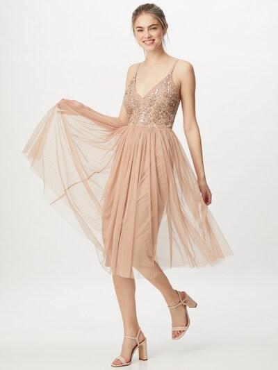 Maya Deluxe Kleid in champagner, Modelansicht
