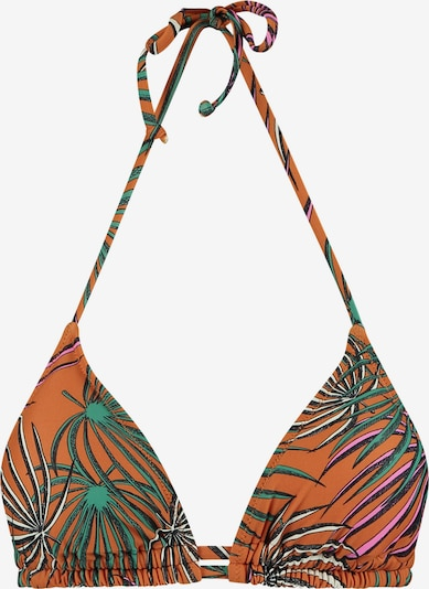 Shiwi Bikini top in mixed colours / orange, Item view