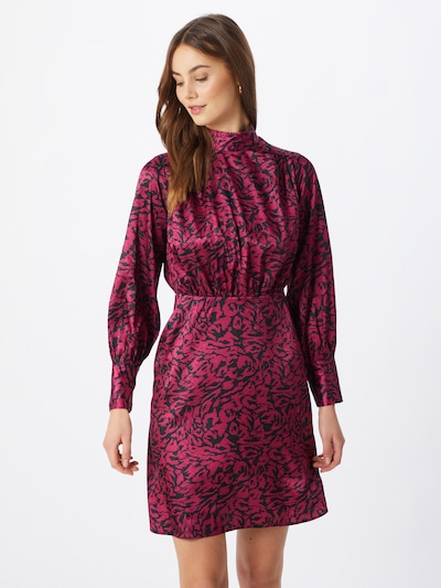 Closet London Kleid in navy / lila, Modelansicht