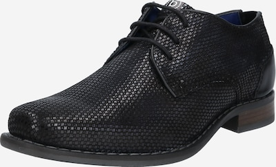 bugatti Šnurovacie topánky 'Benigno' - čierna, Produkt