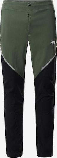 THE NORTH FACE Outdoorhose 'STOUR ALPIN' in grau / grün / schwarz / weiß, Produktansicht