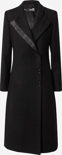 Cappotto di mezza stagione Love Moschino di colore color fango / nero, Visualizzazione prodotti