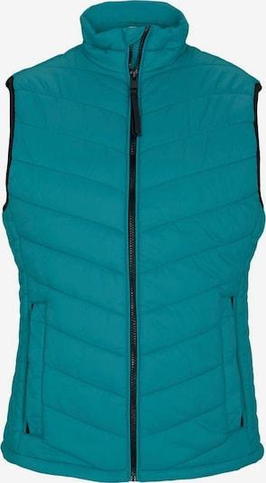 TOM TAILOR Bodywarmer in de kleur Turquoise, Productweergave