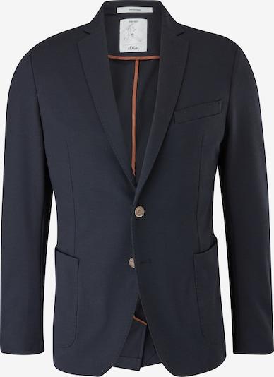 s.Oliver BLACK LABEL Slim: Jogg Suit-Sakko in dunkelblau, Produktansicht
