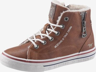 MUSTANG Stiefel in blau / braun / rot / weiß, Produktansicht