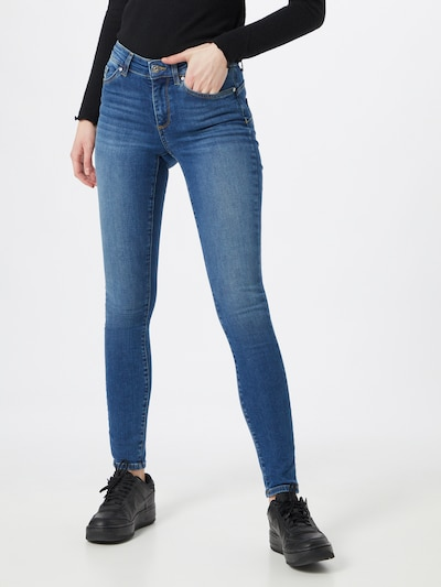 ONLY Jeans 'ANNE' in blue denim: Frontalansicht