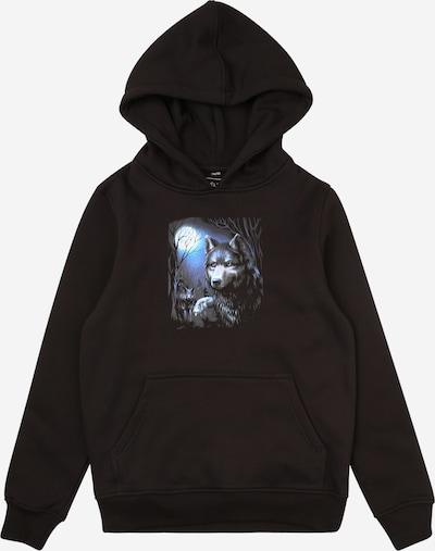 Mister Tee Sweatshirt 'Wolf' in de kleur Gemengde kleuren / Zwart, Productweergave