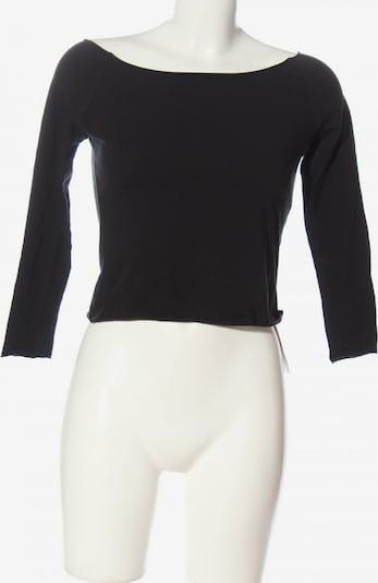 Brandy Melville Cropped Shirt in XS in schwarz, Produktansicht