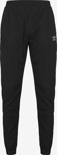 UMBRO Woven Trainingshose Herren in schwarz, Produktansicht
