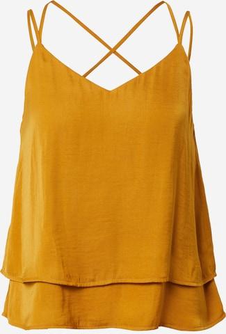 Guido Maria Kretschmer Collection - Top 'Ava' en amarillo