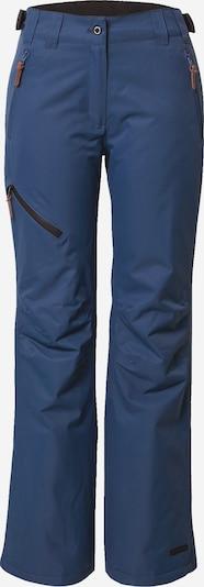 ICEPEAK Pantalon outdoor en bleu, Vue avec produit