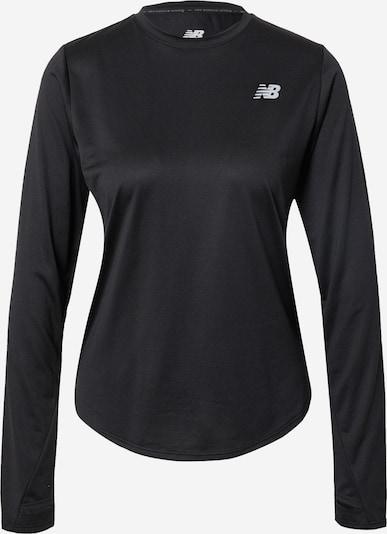 Tricou funcțional 'Accelerate' new balance pe negru / alb, Vizualizare produs