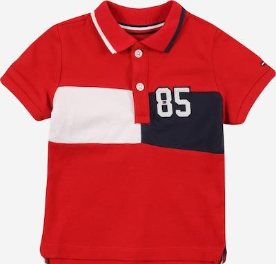 Marškinėliai iš TOMMY HILFIGER, spalva – tamsiai mėlyna / raudona / balta, Prekių apžvalga