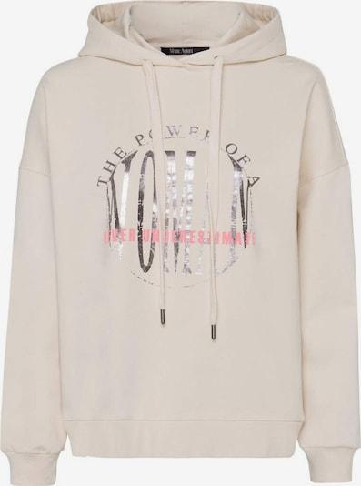 MARC AUREL Sweatshirt in beige / pink / silber, Produktansicht