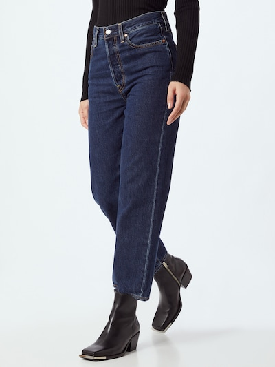 LEVI'S Jeans 'RIBCAGE' in Blue denim, View model