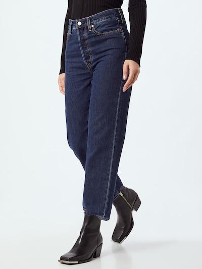 LEVI'S Jeans 'RIBCAGE' in blue denim, View model