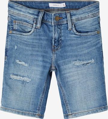 NAME IT Shorts 'Sofus' in Blau