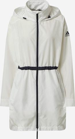 Veste outdoor adidas Terrex en blanc