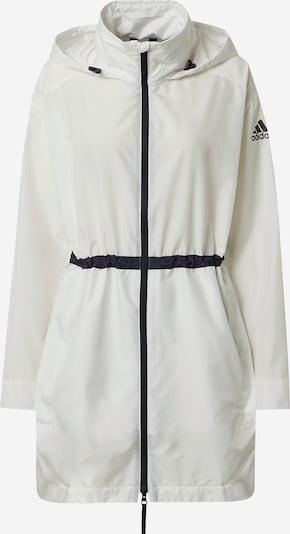 ADIDAS PERFORMANCE Outdoor jacket in black / white, Item view