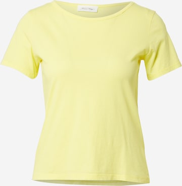 AMERICAN VINTAGE Tričko 'Decatur' - Žltá