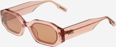 McQ Alexander McQueen Sonnenbrille in pastellpink / schwarz, Produktansicht