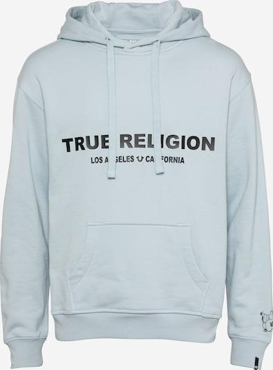 Bluză de molton True Religion pe albastru deschis / negru, Vizualizare produs