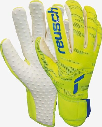 REUSCH Torwarthandschuhe 'Pure Contact SpeedBump' in blau / gelb / weiß, Produktansicht