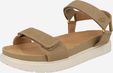 smėlio CAMEL ACTIVE Sportinio tipo sandalai