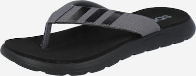 ADIDAS PERFORMANCE Zehentrenner in grau / schwarz, Produktansicht