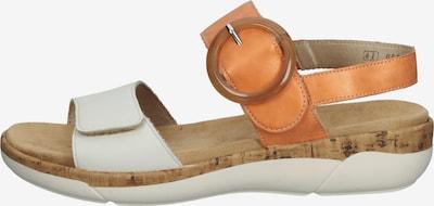 REMONTE Sandale in orange / weiß, Produktansicht