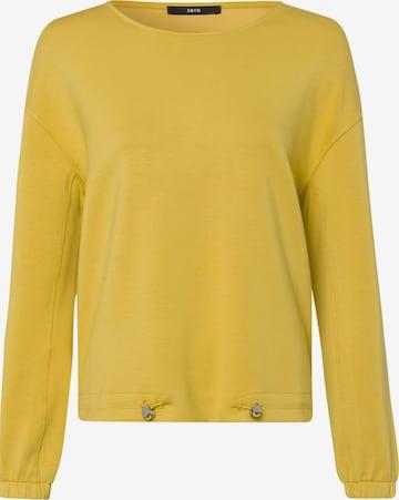 zero Sweatshirt in Gelb