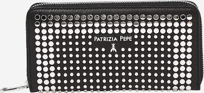 PATRIZIA PEPE Plånbok i svart / silver, Produktvy