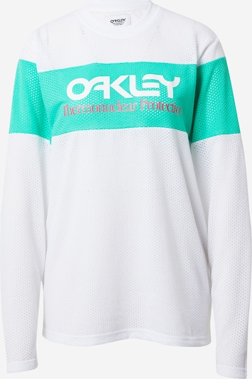 OAKLEY Functional shirt 'TNP FIERY' in Green / White, Item view
