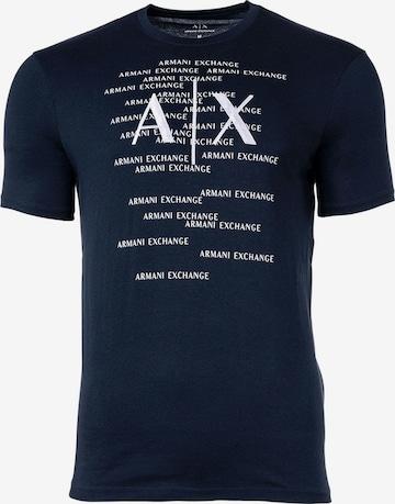 T-Shirt ARMANI EXCHANGE en bleu