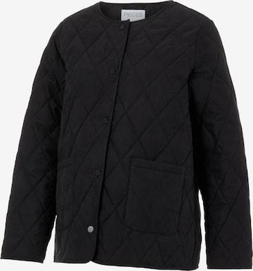 Pieces Maternity Between-Season Jacket 'Fredah' in Black