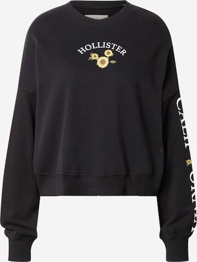 HOLLISTER Sweatshirt in Brown / Yellow / Black / White, Item view
